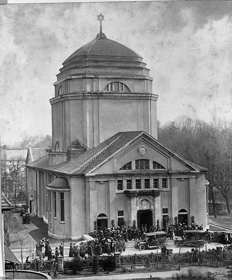 Weihe der Synagoge, 1911. Foto: Ratsarchiv