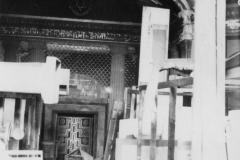 Die Synagoge als Kulissenlager des Theaters, 1950er Jahre. Foto: Ratsarchiv